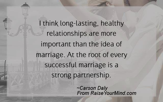 the factors that make a relationship strong or long lasting Core qualities of successful marketing relationships strong customer relationships can yield both customers have a long and satisfactory relationship.