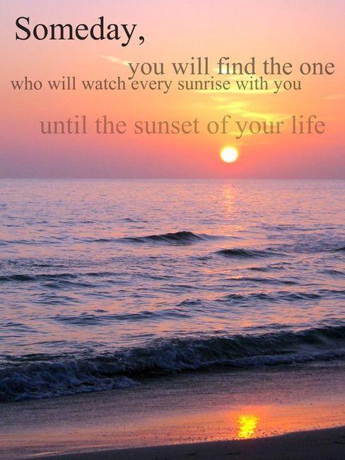 Sunrise love quotes