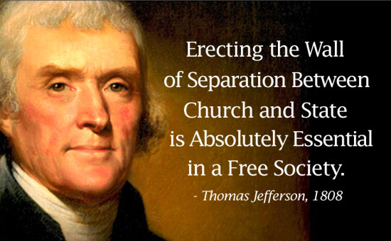 argumentative essay separation church state