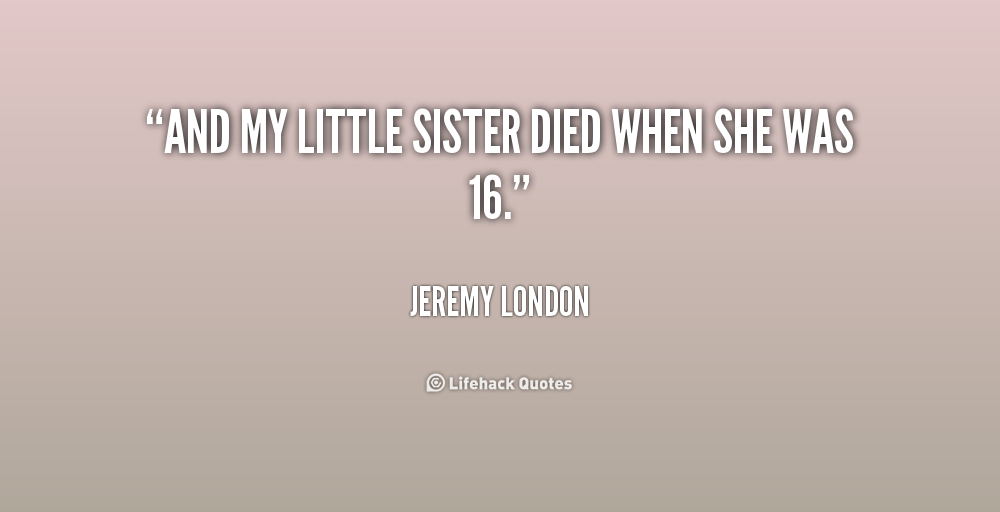 essays about little sister