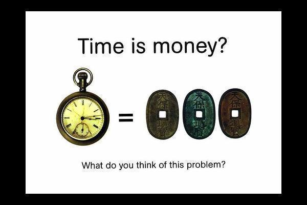 time is money 3 essay Essay on time is money essay on time is money the phrase time is money was first quoted by benjamin franklin introduction and meaning: this proverb highlights the importance of value of time.