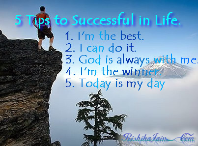 who to be successful in life