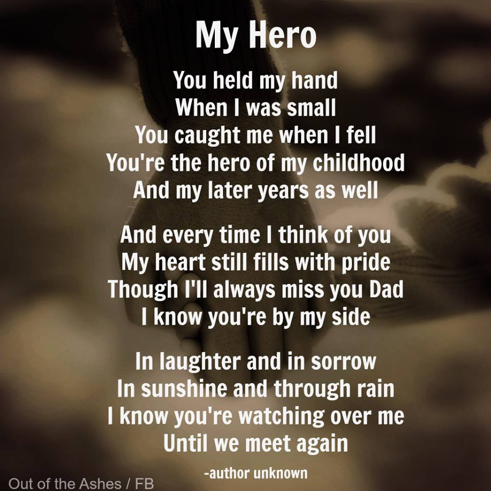 quotes about dad hero quotes