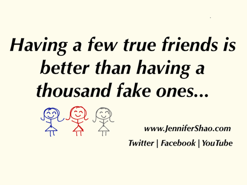 Quotes about Few real friends (21 quotes)