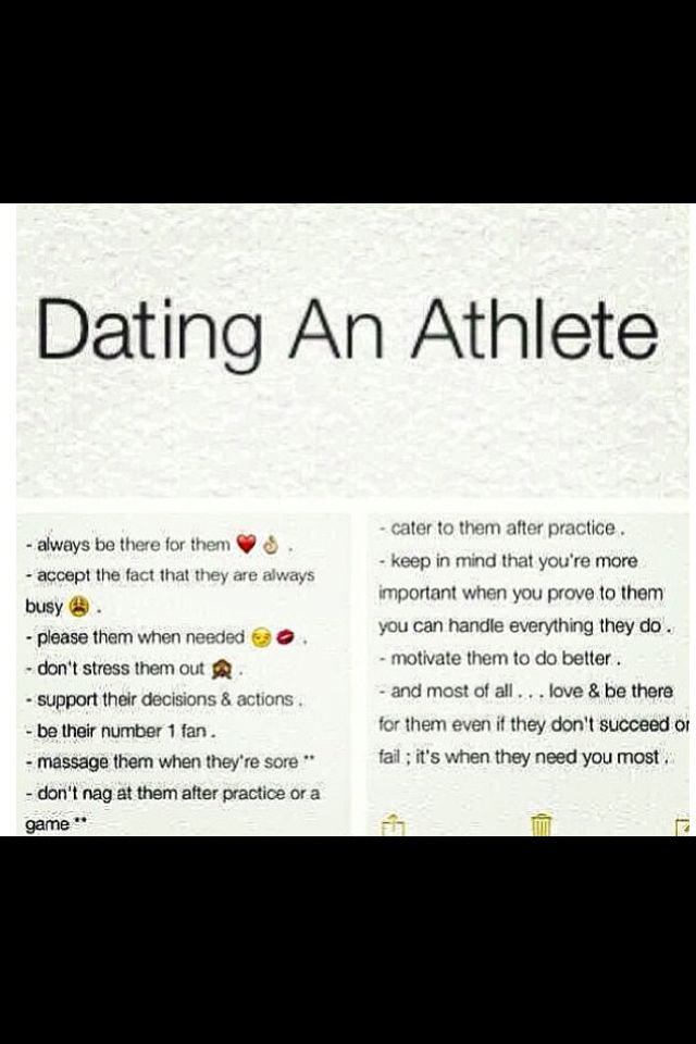 online dating for athletes