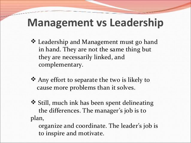 comparison supervision and leadership Compare and contrast the four theories of leadership of each leadership model provide a comparison and management - organisation, leadership and.