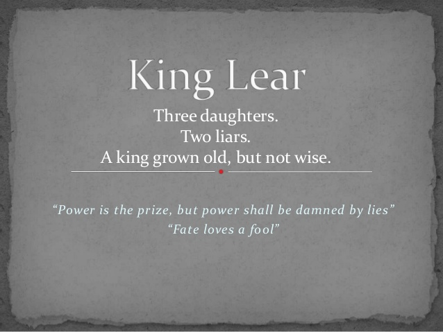 king lear quotes for essays