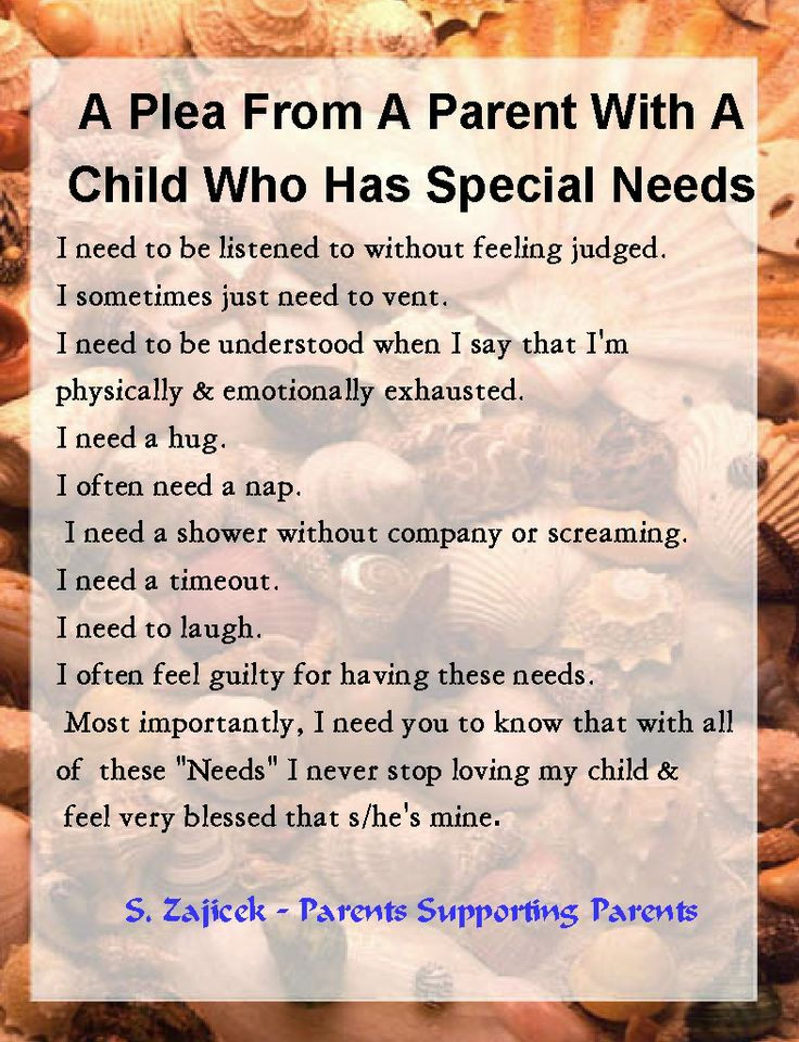 Special needs parents dating