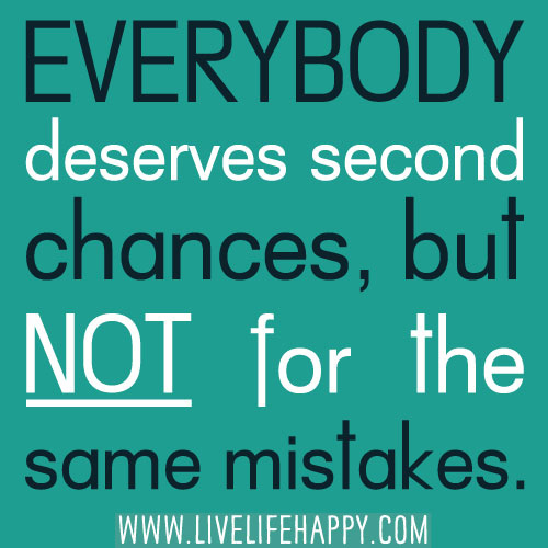everyone deserves a second chance essay