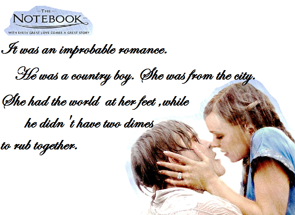 Romantic Quotes from The Notebook for