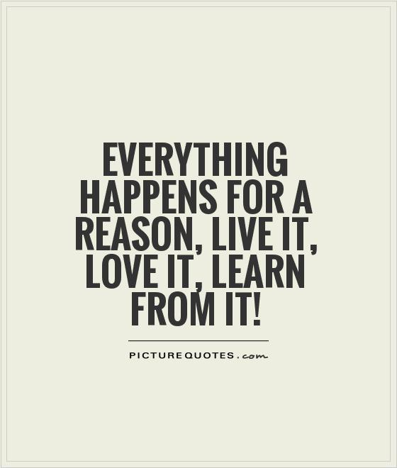 Lessons learned quotes love