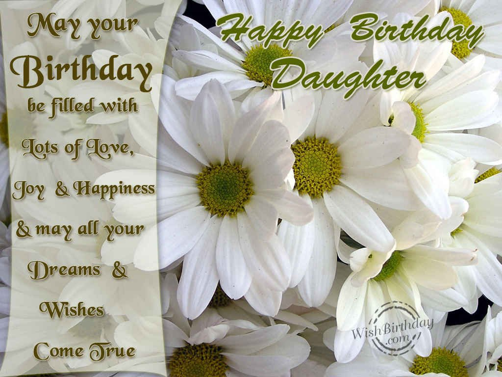 Quotes About Birthday Daughter 38 Quotes
