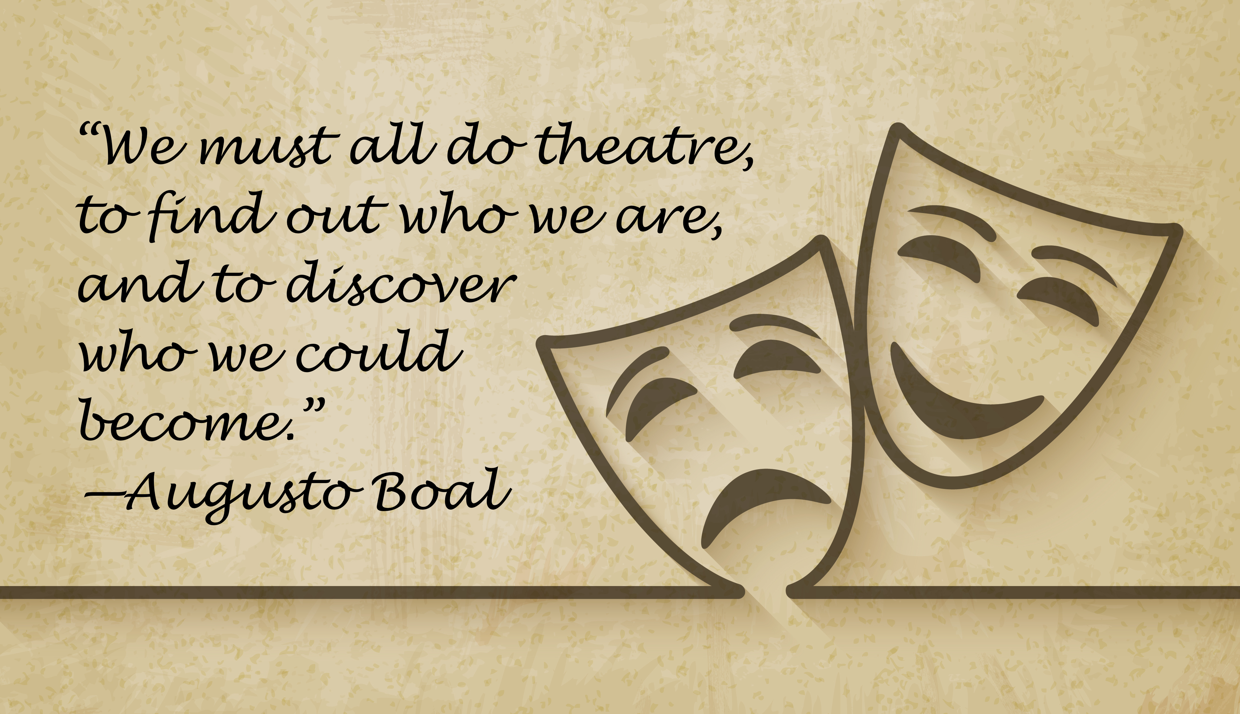 Quotes about Drama theater (41 quotes)