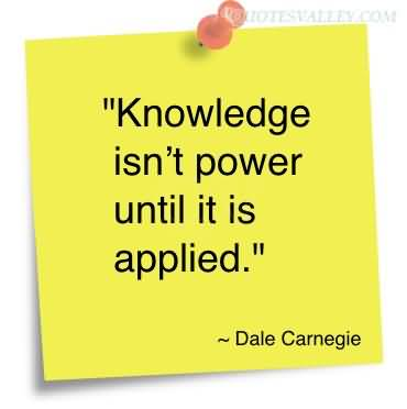 Quotes About Knowledge Is Power 60 Quotes Enchanting Knowledge Is Power Quote