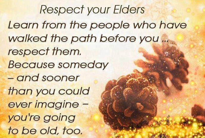 essay on respect our elders We always respect our elders we always respect our elders because elders have a lot of experiences more than young people elders have had more time to.