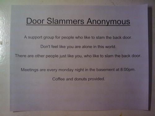 The Door Slammed Shut, Never to Be Opened Again