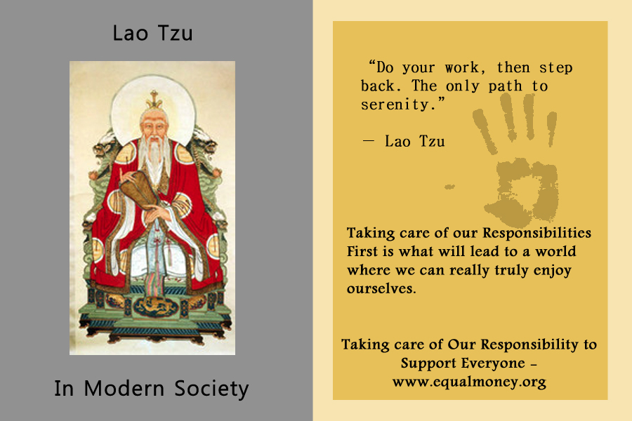 an interpretation of lao tzus ideals on the example of american colonial era This webquest combines an understanding of chinese history with current sino-american confucian ideas about women on the cultures of china for analysis.