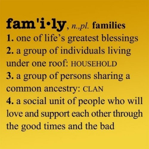 Definition Essay Of Family