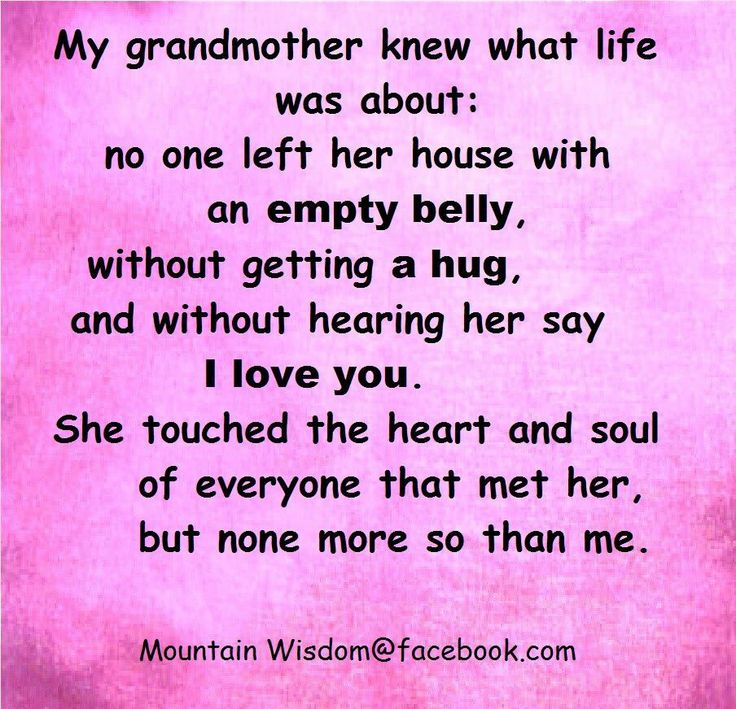 Quotes About Losing My Grandmother  Quotes