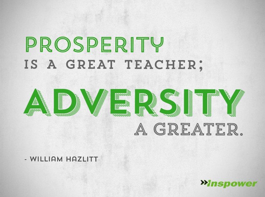short essay on overcoming adversity