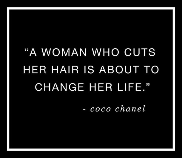 Quotes About Women Cutting Their Hair 15 Quotes