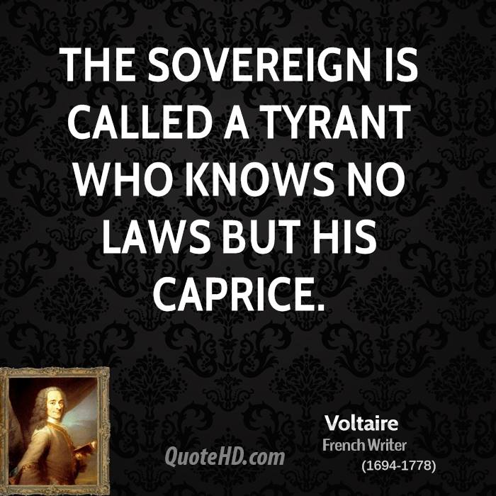 about sovereigns and tyrants essay