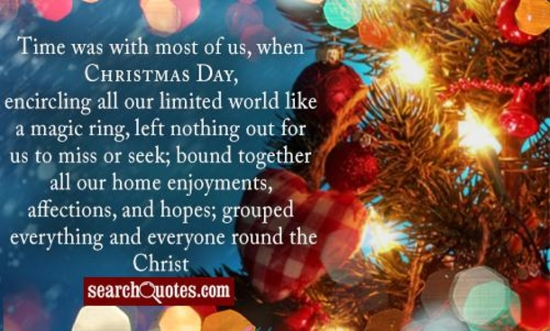 Quotes About Christmas Time And Family 38 Quotes