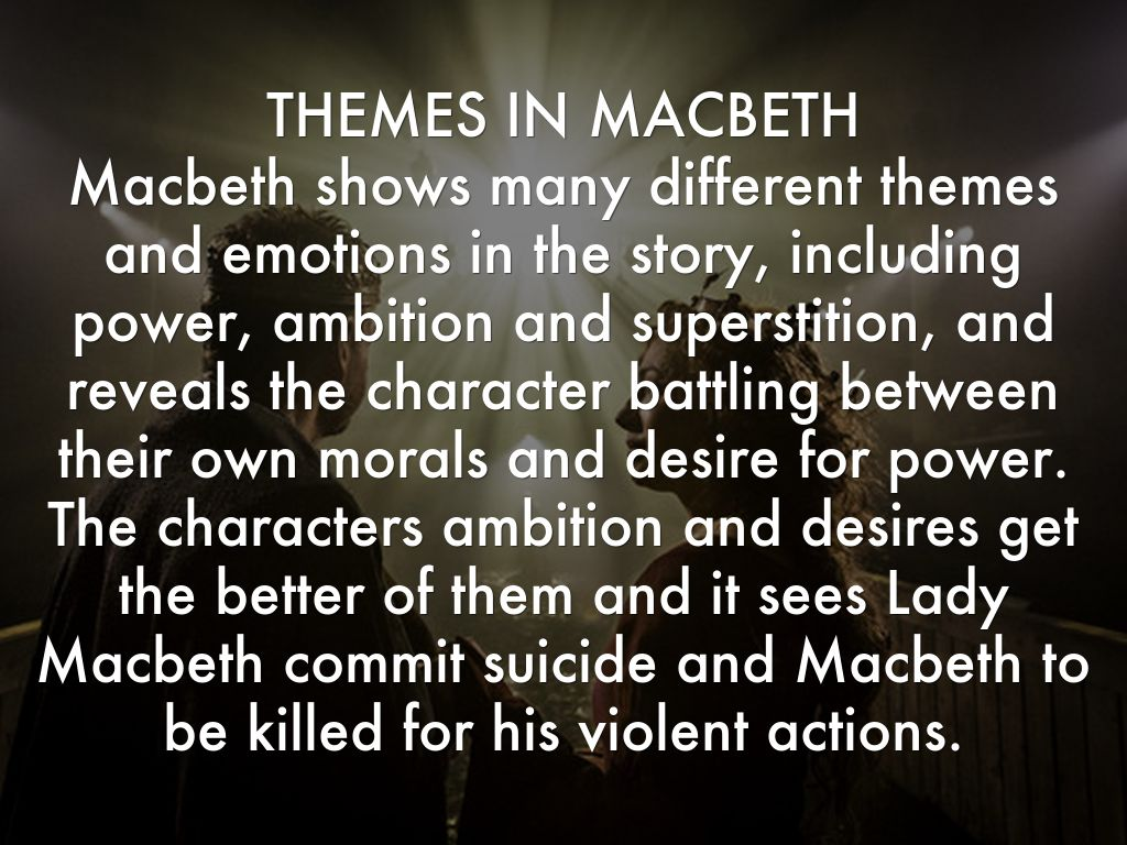 greed and power in macbeth essay