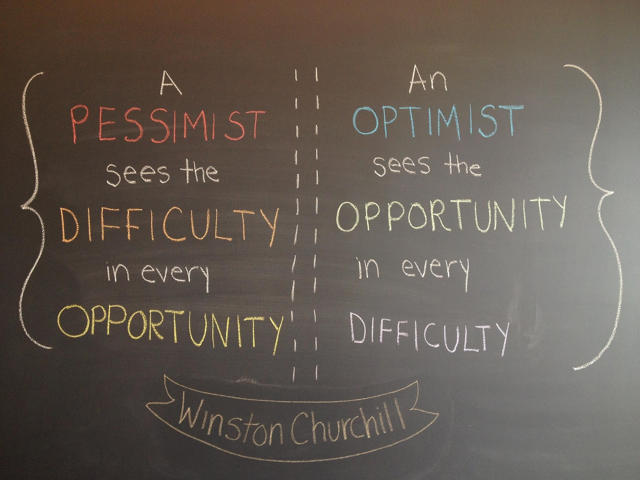 examples of optimistic and pessimistic people