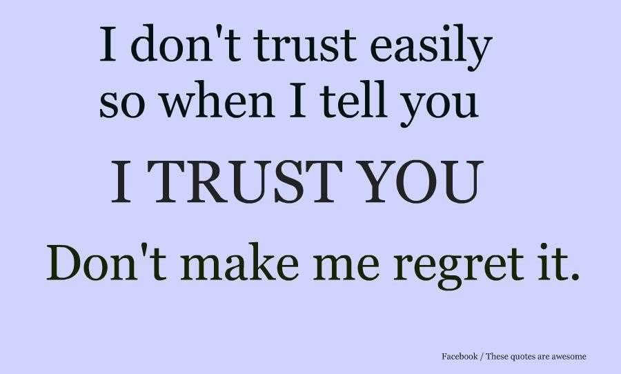 Quotes About Trust 1371 Quotes