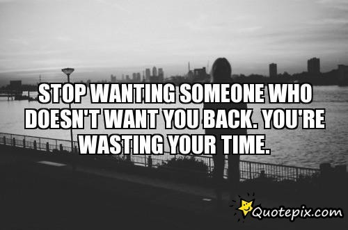 wanting someone to love you