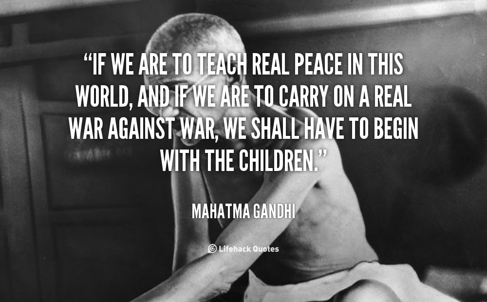 Quotes About Peace Mahatma Gandhi 22 Quotes