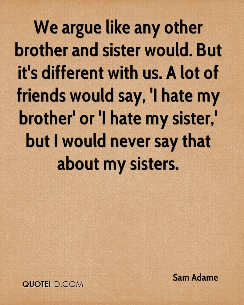 i want a relationship where we fight like brother and sister