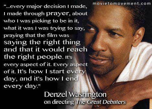 Quotes About Denzel Washington 60 Quotes Interesting Denzel Washington Quotes