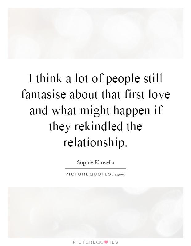First love rekindled