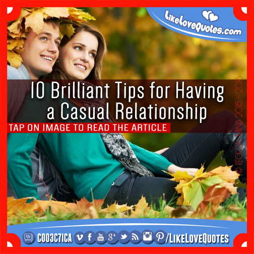 Causal relationship dating quotes