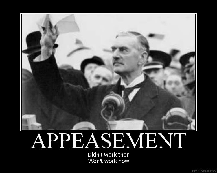 views to appeasment This research paper appeasement in the 1930s and other what this general view of appeasement is trying show is that in this situation appeasement of an.