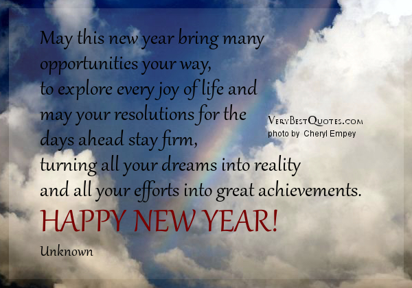 Quotes About New Year New Life 50 Quotes