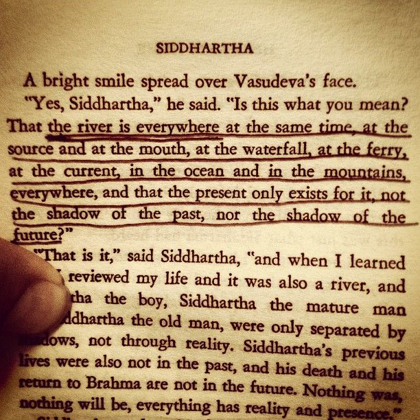 the importance of the river siddhartha The significance of the river in siddhartha essay the significance of the river in siddhartha in the book siddhartha by hermann hesse the significance of the river is displayed throughout the experiences that siddhartha has next to the river and the things that by listening to the sound he comes to understand.