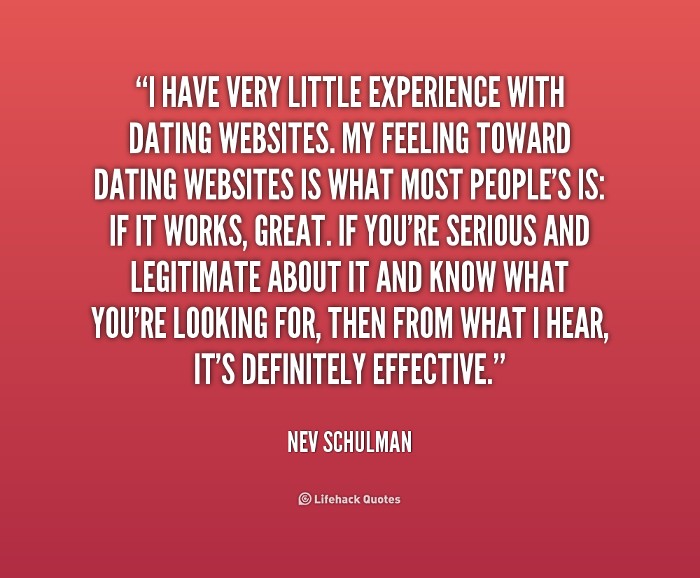 Great quotes for dating sites