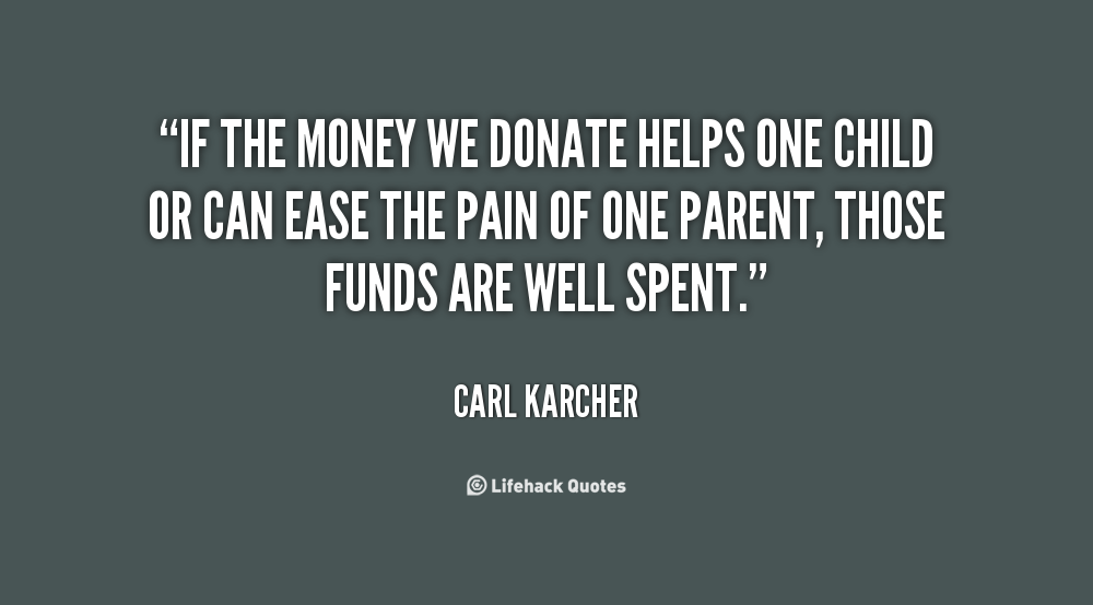 Quotes About Donating Money 60 Quotes Extraordinary Quotes About Donating