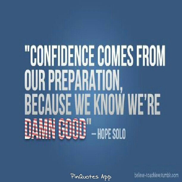 Quotes About Sports Confidence 31 Quotes