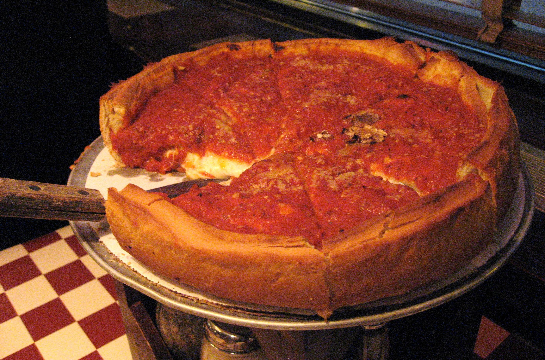 Пицца наоборот рецепт