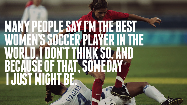 Soccer quotes for girls
