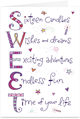 Quotes About Sixteenth Birthday 27 Quotes