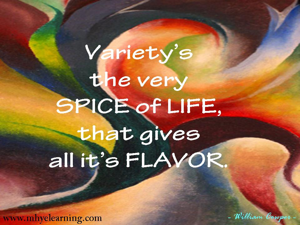 Spice Of Life Quote Captivating Quotes About Spice Of Life 60 Quotes
