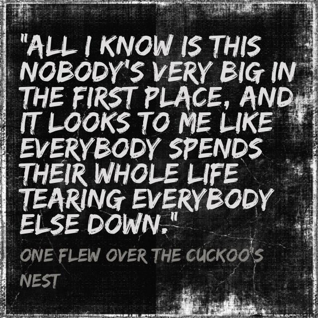 a literary analysis and a summary of one flew over the cuckoos nest A literary analysis of one flew over the cuckoo's nest for ap english 12.