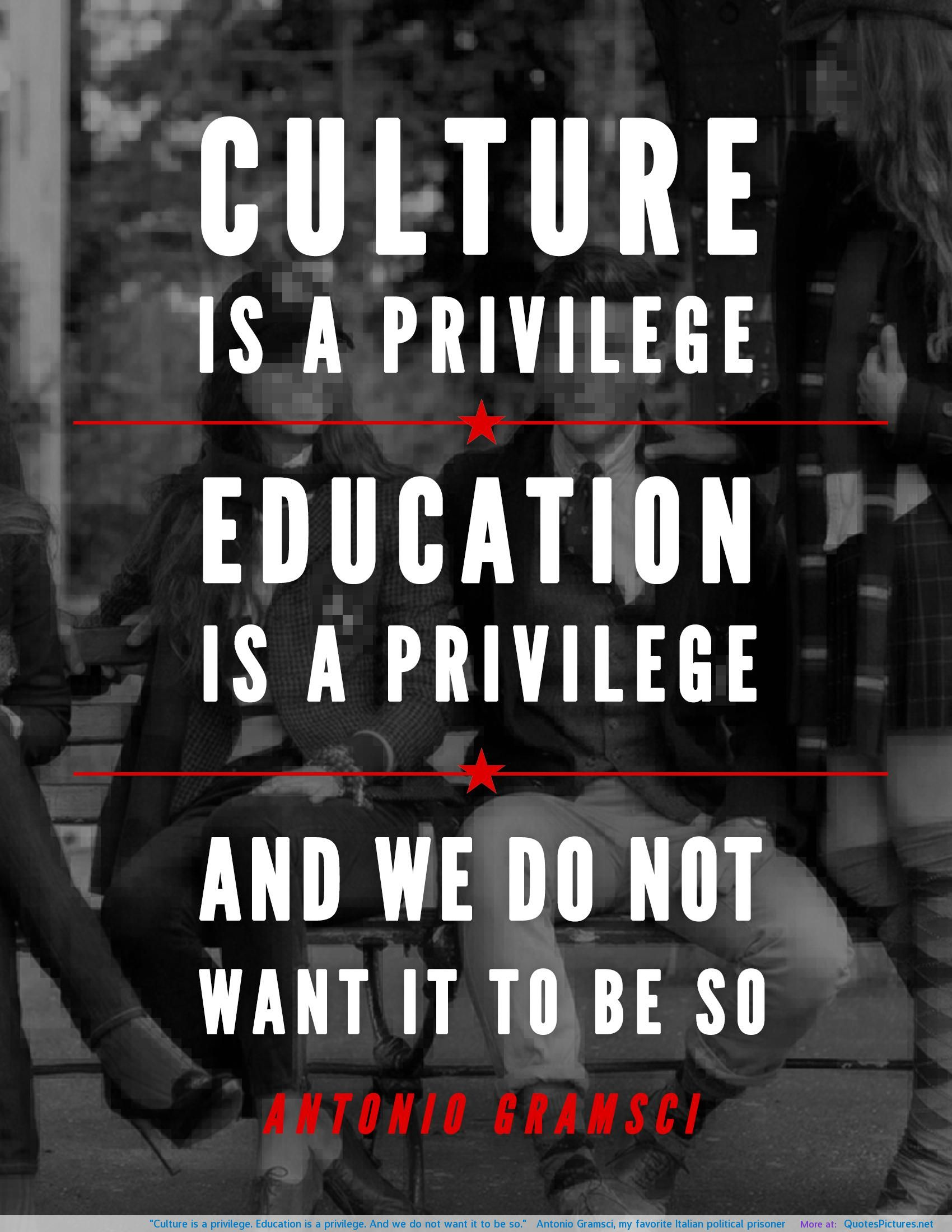 education and privilege There has been plenty of talk about privilege lately:  where there is money, there is education where there isn't money, there is excessive testing,.