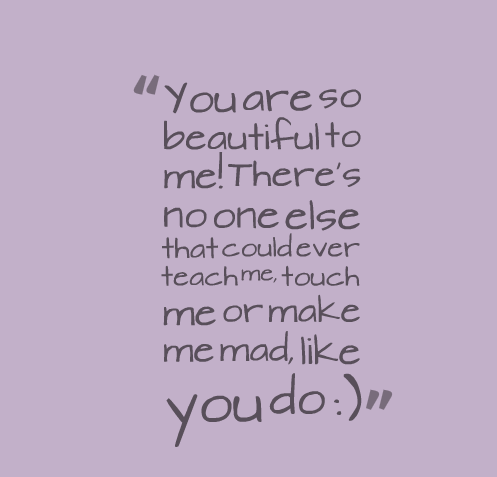 You are So Beautiful Quotes for her  YouTube
