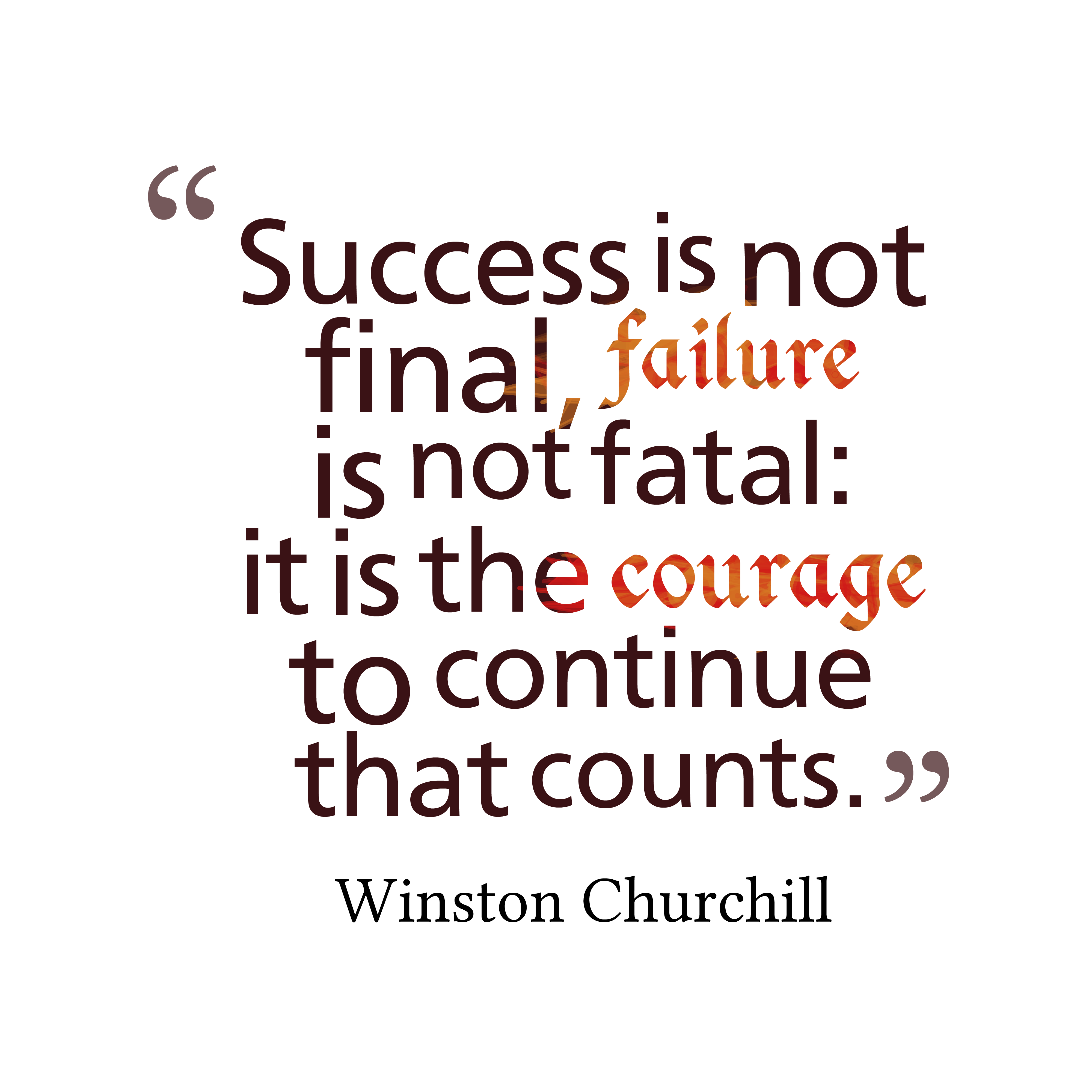 speech about success and failure